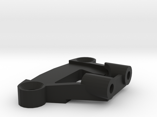 FR02 Top Shock Holder in Black Natural Versatile Plastic