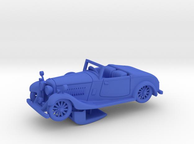 Bentley 1930 4,5L 1:48 in Blue Processed Versatile Plastic