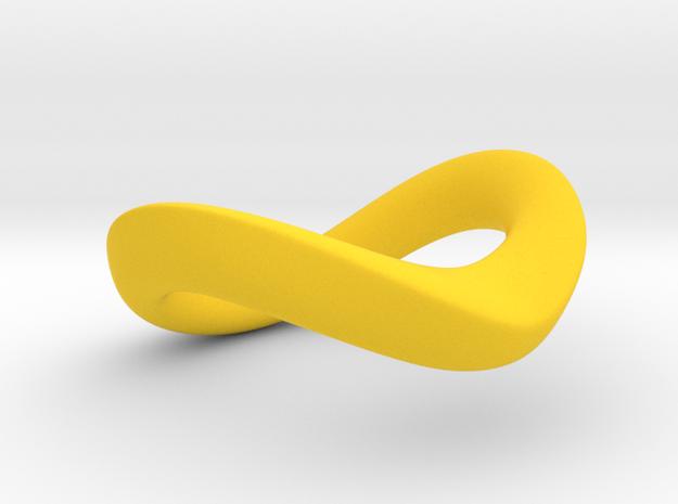 JNada CRing 35mm in Yellow Processed Versatile Plastic
