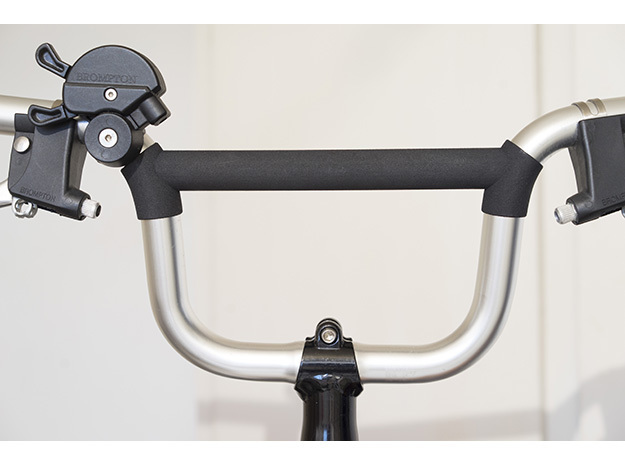 Bridge extender for Brompton M type (pre-2017) in Blue Processed Versatile Plastic