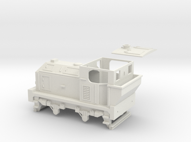 00 Scale 100hp (Post-War) Sentinel Shunter