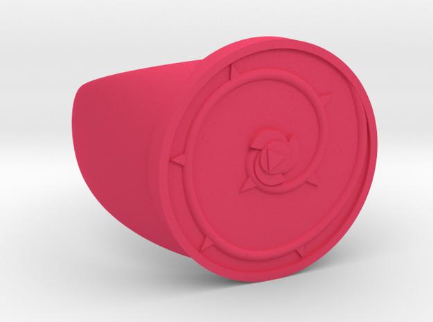 Rose Ring in Pink Processed Versatile Plastic