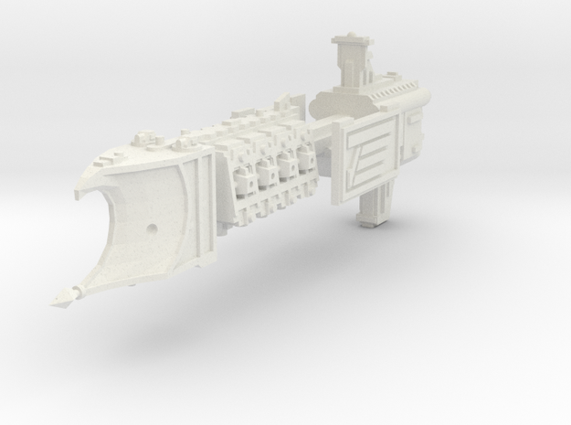 Crucero Ligero clase Endeavour  in White Natural Versatile Plastic