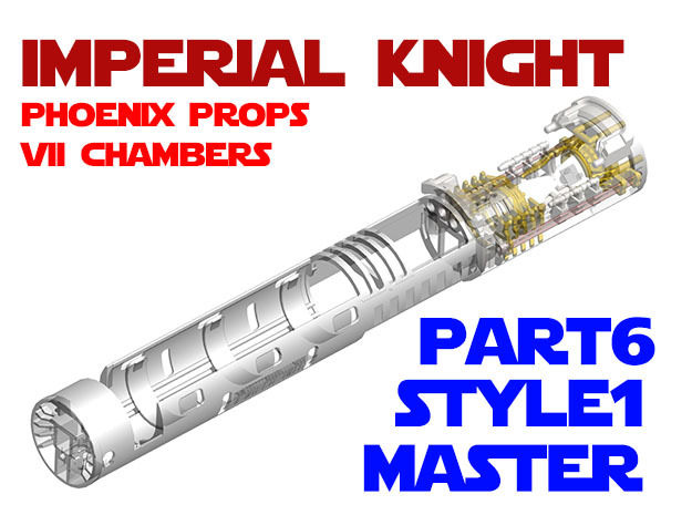 Imperial Knight - Master Part6 Style1 in Smooth Fine Detail Plastic