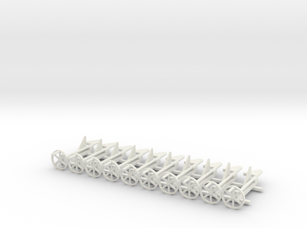 a-19-wdlr-d-bogie-brake in White Natural Versatile Plastic