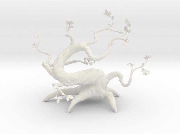 Fantasy Tree in White Natural Versatile Plastic