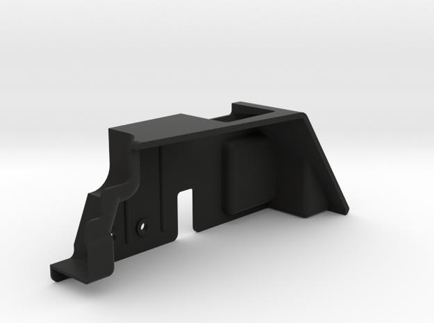 JK LH Inner Fender(for LH trans/motor) in Black Natural Versatile Plastic