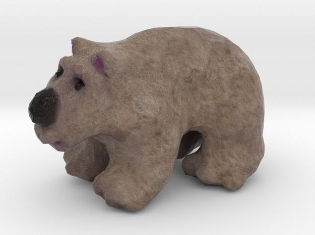 California Golden Bear Figurine in Full Color Sandstone