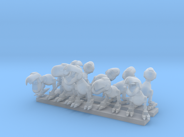 Mouser swarm  in Smoothest Fine Detail Plastic