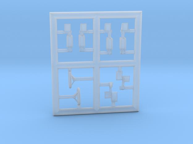 LEKTRO-144Scale-5-PartFret in Smoothest Fine Detail Plastic