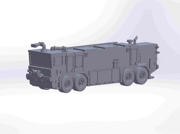 OK T3000 8x8 fire truck in Smoothest Fine Detail Plastic: 1:220 - Z