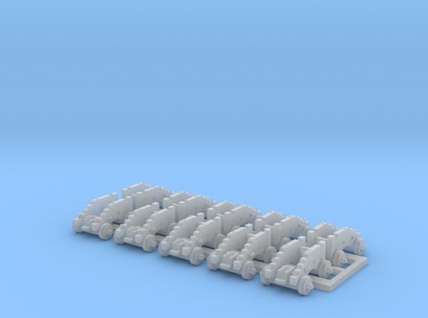 1/150 Affut pour canon de 18£ - 1766 - X10 in Smooth Fine Detail Plastic