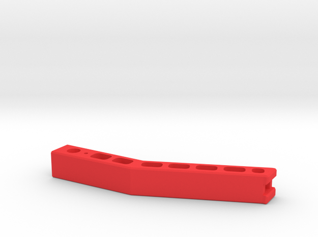 After Market Recline-Handle for Gaming Chair in Red Processed Versatile Plastic