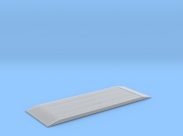 Simple wood tampoon bridge in Smooth Fine Detail Plastic