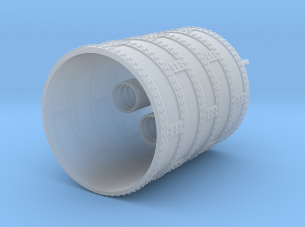Schiffsdampfkessel o24x32 mm 1:120 TT in Smooth Fine Detail Plastic
