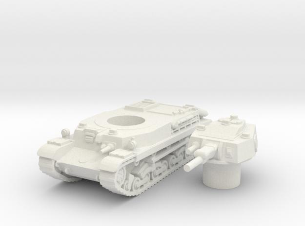 turan II scale 1/87 in White Natural Versatile Plastic