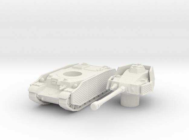 turan III scale 1/100 in White Natural Versatile Plastic
