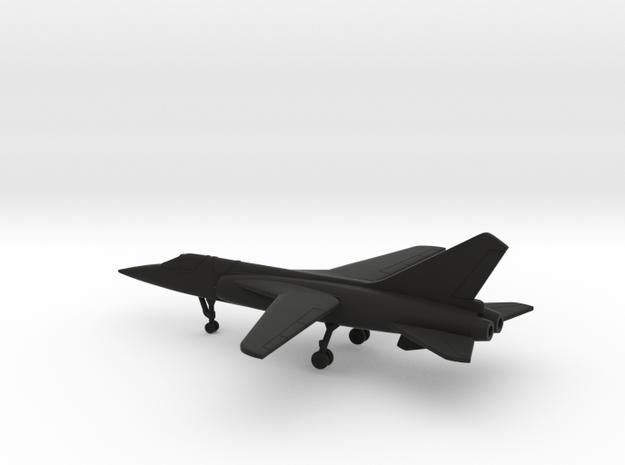 Dassault Mirage G.8 in Black Natural Versatile Plastic: 6mm