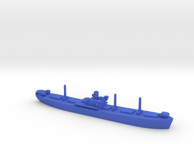 1/1200 Liberty Ship in Blue Processed Versatile Plastic