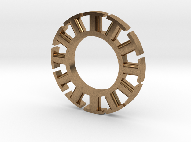 Stator in Natural Brass