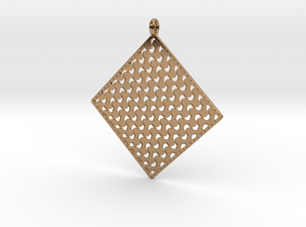 Pendant Pattern  in Polished Brass