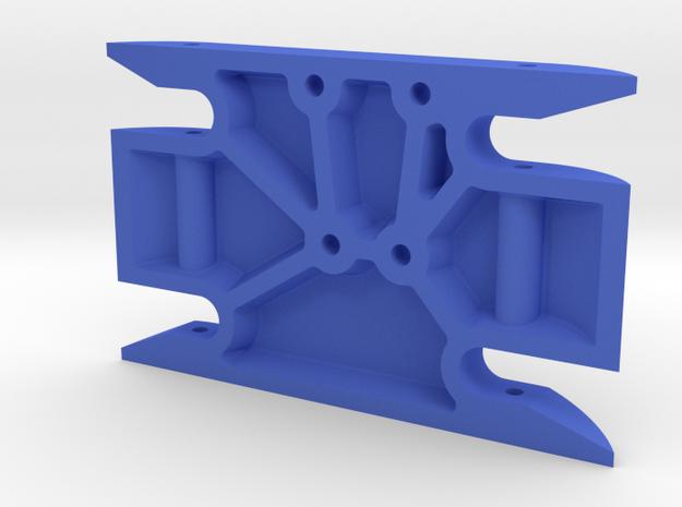 Sucker Punch skid plate (DSD) in Blue Processed Versatile Plastic