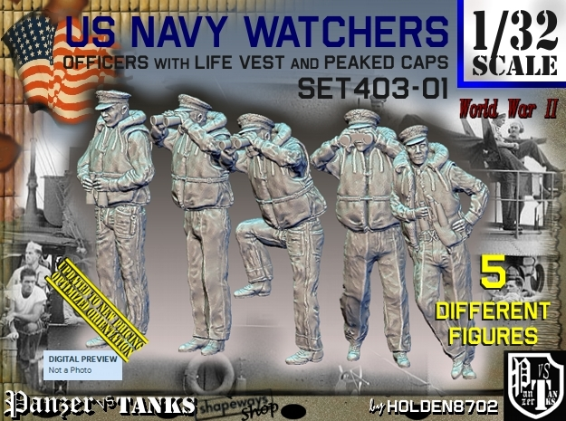 1/32 USN Watchers Set403-01