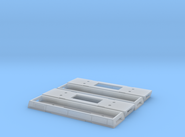 N Gauge Class 465 Tray x 4 in Smooth Fine Detail Plastic