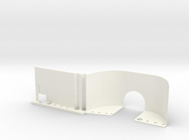 EX Real Inner Fender LEFT REAR in White Processed Versatile Plastic