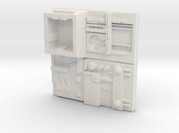 tile_deathstar_17 in White Natural Versatile Plastic