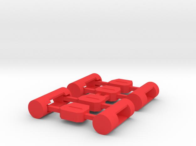 MiSTer Case Universal v5.2 ButtonsKit in Red Processed Versatile Plastic