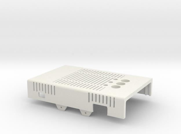 MiSTer XS Case v5.2 XS Top Shell(1/4) in White Natural Versatile Plastic