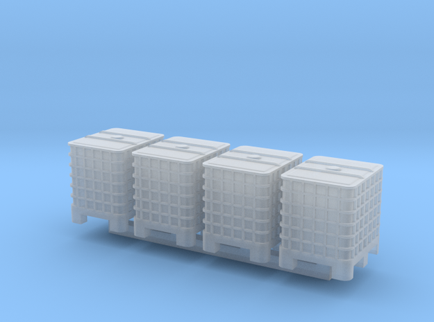 TT Scale IBC 4pc in Smooth Fine Detail Plastic