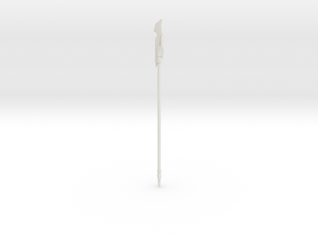halberd in White Natural Versatile Plastic