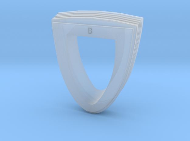Ingram Neck #1 in Smooth Fine Detail Plastic
