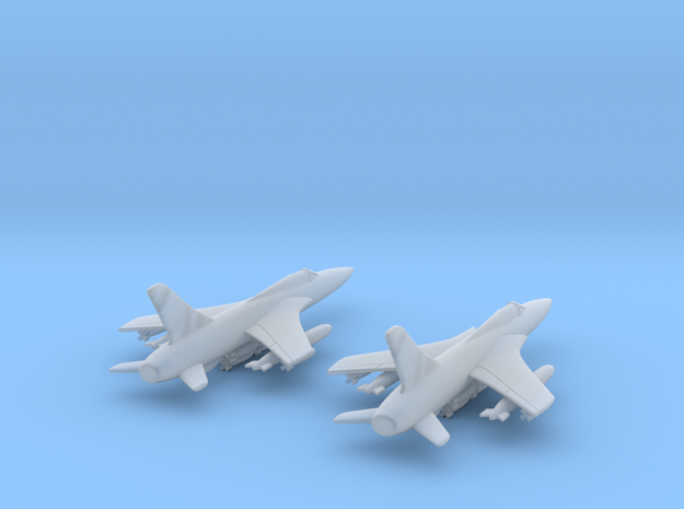 1:350 F-105D x 2 in Smooth Fine Detail Plastic