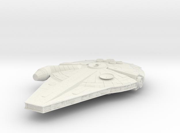 New Han Solo's Millennium Falcon in White Natural Versatile Plastic