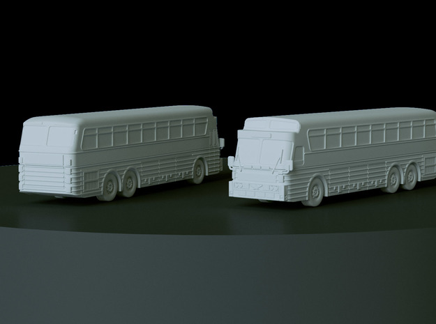 1972 Eagle 5 Bus Scale: 1:160 in Smooth Fine Detail Plastic