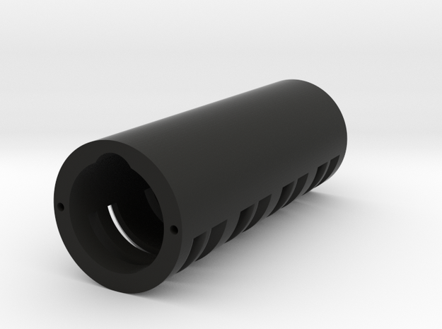 "Modular Chassis: 18650 Battery Holder: 0.99""  in Black Natural Versatile Plastic"