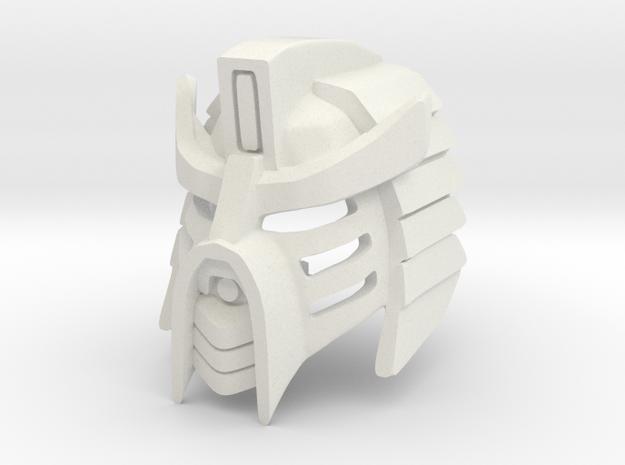 The Kanohi Aki Hau: Honorable Mask of Shielding in White Natural Versatile Plastic