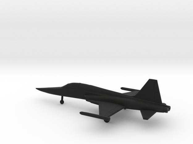 Northrop F-5F Tiger II in Black Natural Versatile Plastic: 1:200