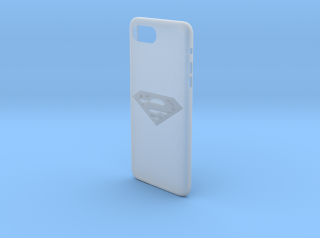 cases iphone 7 plus superman thema in Smooth Fine Detail Plastic