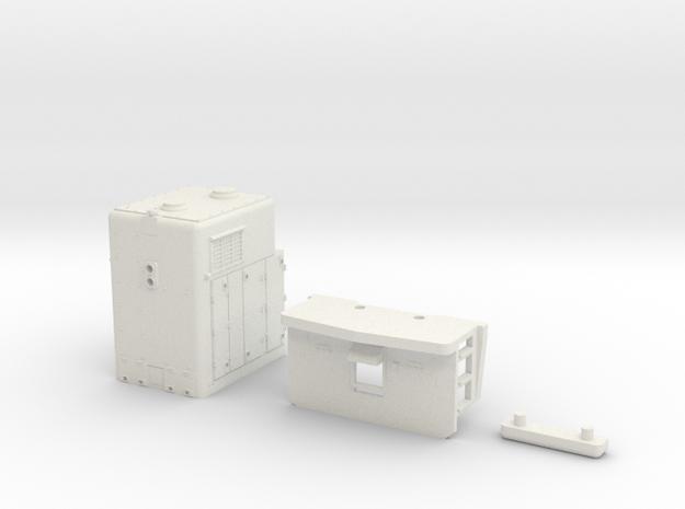 O scale sdp40 steam generator part 1 in White Natural Versatile Plastic