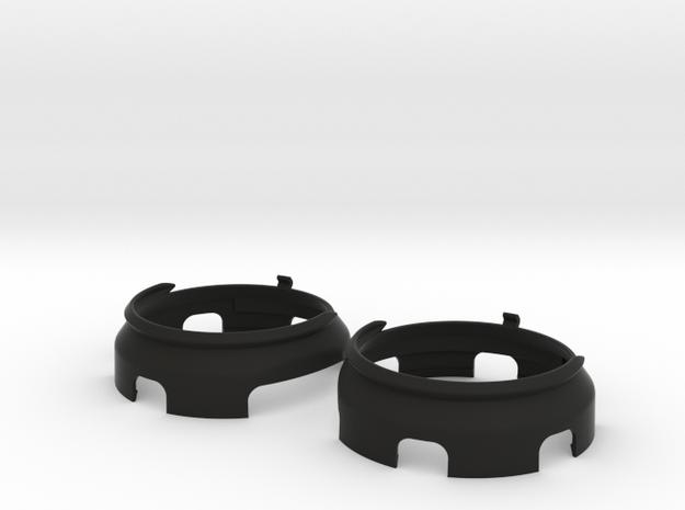 Prescription Lens Adapter - Windows Mixed Reality in Black Natural Versatile Plastic