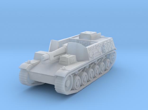 sturmpanzer II scale 1/144 in Smooth Fine Detail Plastic