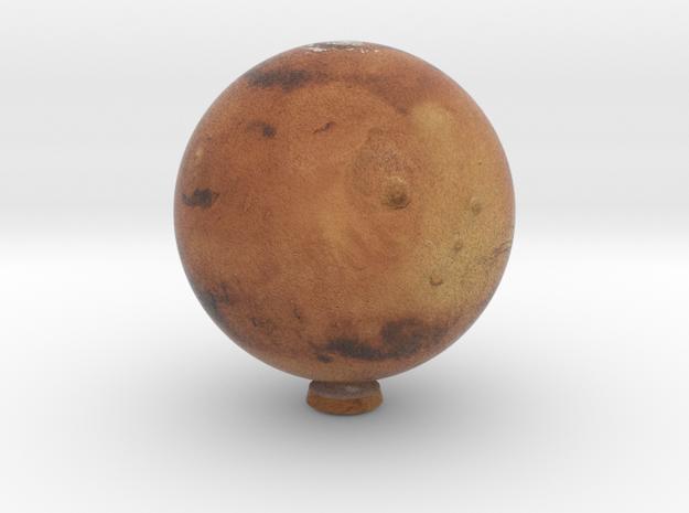 Mars 1:150 million in Natural Full Color Sandstone
