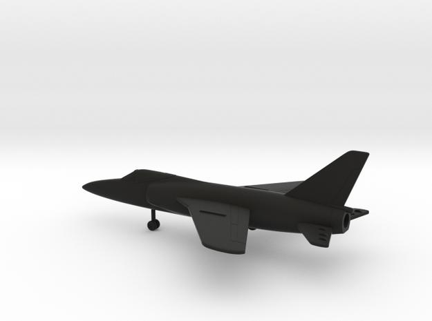 Grumman F-11F-1 Tiger in Black Natural Versatile Plastic: 1:200