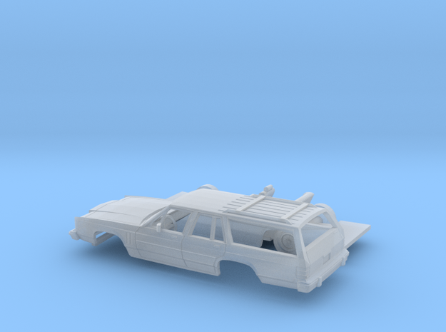 1/87 1979-87 Mercury Colony Park Wagon Kit in Smooth Fine Detail Plastic