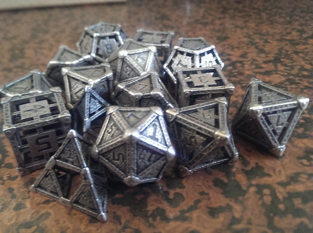 Industrial Dice Set