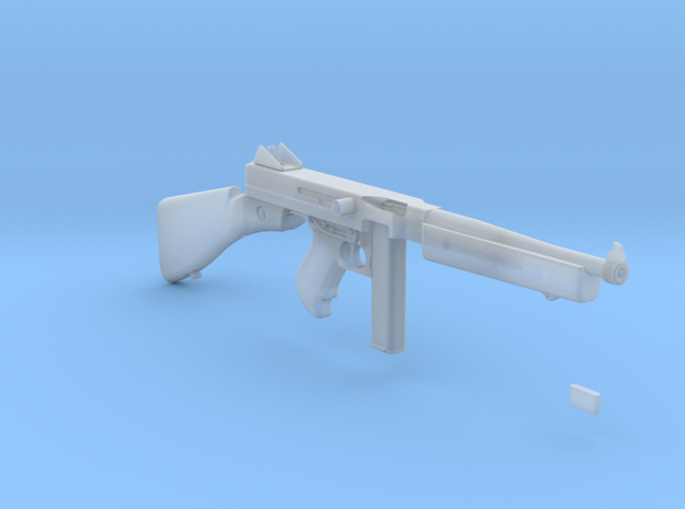 1/3 Scale 1941 Thompson Submachine Gun in Smooth Fine Detail Plastic